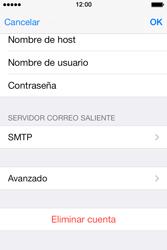 Apple iPhone 4S iOS 7 - E-mail - Configurar correo electrónico - Paso 23