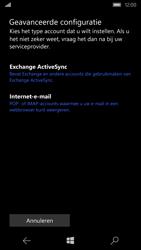 Microsoft Lumia 550 - E-mail - Account instellen (POP3 met SMTP-verificatie) - Stap 7