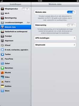 Apple The New iPad - Internet - Uitzetten - Stap 4