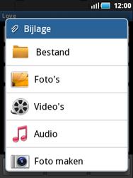 Samsung S5570 Galaxy Mini - E-mail - E-mails verzenden - Stap 9