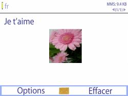 Bouygues Telecom Bc 311 - Contact, Appels, SMS/MMS - Envoyer un MMS - Étape 12