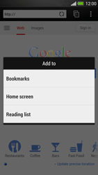 HTC One - Internet - Internet browsing - Step 6