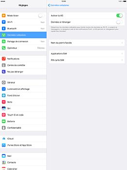 Apple iPad Pro 12.9 (1st gen) - iOS 10 - Internet - Configuration manuelle - Étape 6
