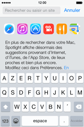 Apple iPhone 4s iOS 8 - Internet - Navigation sur Internet - Étape 3