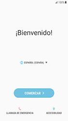 Samsung Galaxy S6 - Android Nougat - Primeros pasos - Activar el equipo - Paso 4
