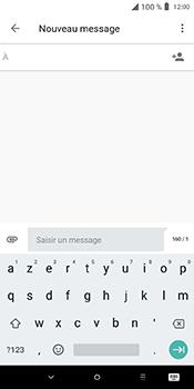 Alcatel 3L - Contact, Appels, SMS/MMS - Envoyer un SMS - Étape 5