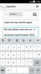 Huawei Y625 - E-mail - E-mails verzenden - Stap 10