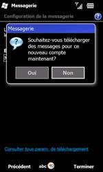 Samsung B7610 Omnia Qwerty - E-mail - Configurer l