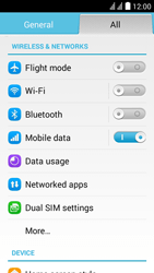 Huawei Ascend Y625 - Wi-Fi - Connect to a Wi-Fi network - Step 3
