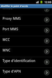 Samsung S7500 Galaxy Ace Plus - Internet - Configuration manuelle - Étape 15