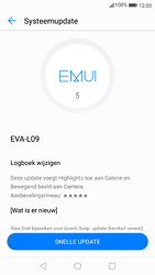 Huawei P9 - Android Nougat - Software update - update installeren zonder PC - Stap 6
