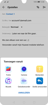 Huawei p-smart-2019-dual-sim-model-pot-lx1 - E-mail - Bericht met attachment versturen - Stap 10