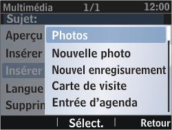 Nokia Asha 302 - MMS - envoi d'images - Étape 18