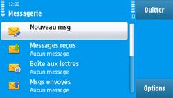 Nokia N97 - E-mail - envoyer un e-mail - Étape 3