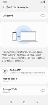Samsung Galaxy A50 - Internet - comment configurer un point d'accès mobile - Étape 7