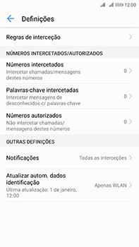 Huawei Mate 10 - Chamadas - Como bloquear chamadas de um número -  6
