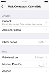 Apple iPhone 4S iOS 8 - Email - Adicionar conta de email -  9