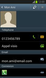 Samsung Galaxy S2 - Contact, Appels, SMS/MMS - Ajouter un contact - Étape 13