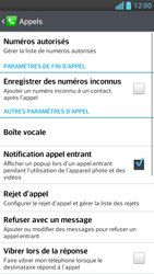LG P875 Optimus F5 - Messagerie vocale - configuration manuelle - Étape 6