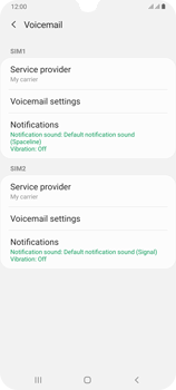 Samsung Galaxy A70 - Voicemail - Manual configuration - Step 7