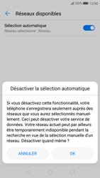 Huawei P10 - Android Oreo - Réseau - Sélection manuelle du réseau - Étape 7