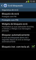 Samsung Galaxy Grand Neo - Segurança - Como ativar o código de bloqueio do ecrã -  12