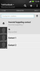 HTC One - Contacten en data - Contacten kopiëren van toestel naar SIM - Stap 4