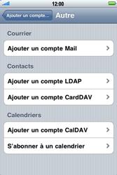 Apple iPhone 3G S - E-mail - Configuration manuelle - Étape 6