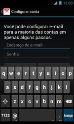 Motorola XT621 Primus Ferrari - Email - Como configurar seu celular para receber e enviar e-mails - Etapa 5