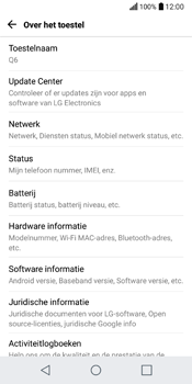 LG Q6 (M700) - Software updaten - Update installeren - Stap 5