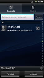 Sony Ericsson Xperia Arc S - E-mail - envoyer un e-mail - Étape 6