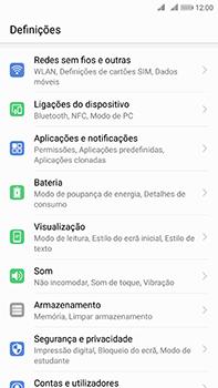 Huawei Mate 10 - Internet no telemóvel - Como ativar os dados móveis -  3