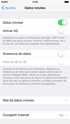 Apple iPhone 6 iOS 8 - Internet - Configurar Internet - Paso 8