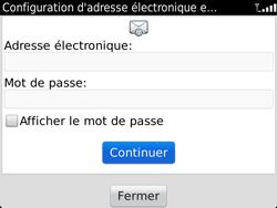 BlackBerry 9900 Bold Touch - E-mail - Configuration manuelle - Étape 7
