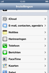 Apple iPhone 4S met iOS 6 (Model A1387) - Contacten en data - Contacten kopiëren van SIM naar toestel - Stap 3