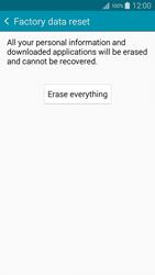 Samsung A500FU Galaxy A5 - Device maintenance - How to do a factory reset - Step 8