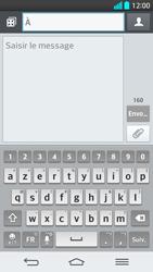 LG G2 - Contact, Appels, SMS/MMS - Envoyer un SMS - Étape 5