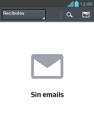 LG Optimus L3 II - E-mail - Configurar correo electrónico - Paso 4