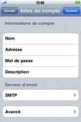Apple iPhone 3G S - E-mail - Configuration manuelle - Étape 12