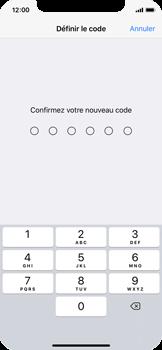 Apple iPhone X - Sécuriser votre mobile - Activer le code de verrouillage - Étape 7
