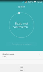 Huawei Y3 - Toestel - Software update - Stap 8