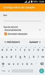 Alcatel U3 - E-mails - Ajouter ou modifier un compte e-mail - Étape 18