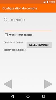 Motorola Moto E4 Plus - E-mails - Ajouter ou modifier votre compte Outlook - Étape 8