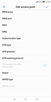 Huawei Mate 10 Pro - Internet - Manual configuration - Step 11