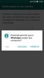 Samsung Galaxy S7 - Aplicações - Como configurar o WhatsApp -  8