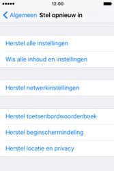 Apple iPhone 4 S iOS 9 - Device maintenance - Terugkeren naar fabrieksinstellingen - Stap 6