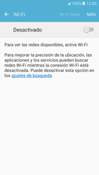 Samsung Galaxy S7 - WiFi - Conectarse a una red WiFi - Paso 5