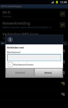 Samsung N7000 Galaxy Note - Wifi - handmatig instellen - Stap 8