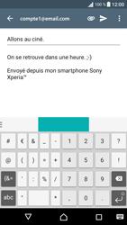 Sony Xperia XA - E-mail - envoyer un e-mail - Étape 9