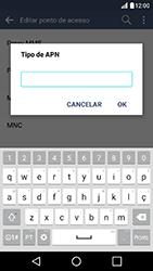 LG K10 - Internet (APN) - Como configurar a internet do seu aparelho (APN Nextel) - Etapa 14